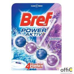 BREF Zawieszka WC POWER ACTIV 50g Lawenda kulki *956048