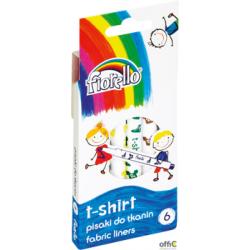 Pisaki T-SHIRT do tkanin Fiorello 6kol 160-2038 GR-F125