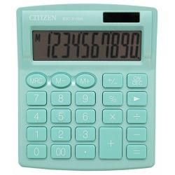 Kalkulator biurowy CITIZEN SDC-810NRGRE, 10-cyfrowy, 127x105mm, zielony