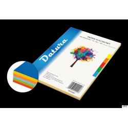 Papier xero kolorowy DOTTS/DATURA A4 80g (100) mix intensywny