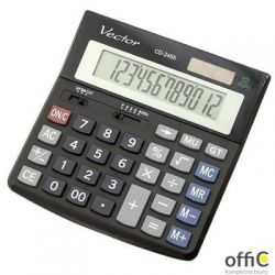 Kalkulator VECTOR CD2455 12 pozycyjny .