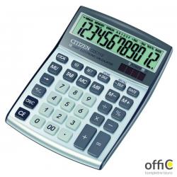 Kalkulator biurowy CITIZEN CDC-112 WB, 12-cyfrowy, 174x130mm, szary