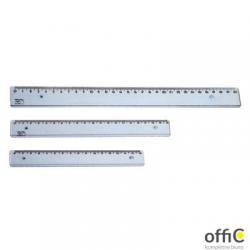 Linijka PRATEL 30cm transparentna ML105-00