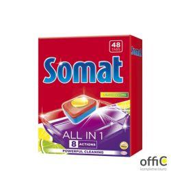 SOMAT Tabletki do zmywarki 48 szt.All in One Lemon 47890