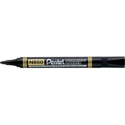 Marker permanentny N850 czarny okrągła końcówka PENTEL