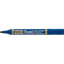 Marker permanentny N850 niebieski okrągła końcówka PENTEL