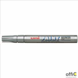 Marker olejowy PX-20 błyszczący srebrny UNI