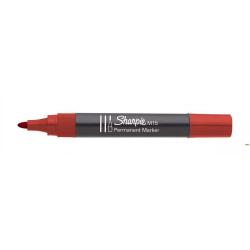 Marker permanetny M15 okrągły czerwony SHARPIE S192605