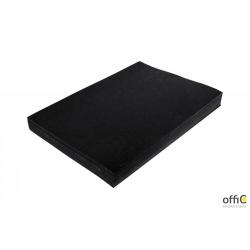 Karton DELTA skóropodobny czarny A4 DOTTS opakowanie 100 szt.