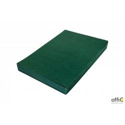 Karton DELTA skóropodobny zielony A4 DOTTS opakowanie 100 szt.