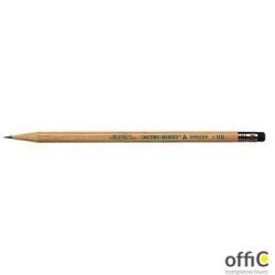 Ołówek z drewna cedrowego ekologiczny z gumką (12szt) Uni 9852 UNI