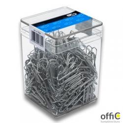 Spinacze metal 26mm (500sztuk) VICTORY plastikowe pudełko