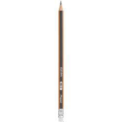 Ołówek drewniany z gumką Blackpeps HB MAPED 851721
