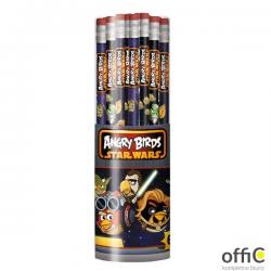Ołówek z gumką tuba (60) nadruk ANGRY BIRDS ST.MAJEWSKI   *0268