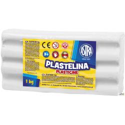 Plastelina Astra 1 kg biała, 303111001