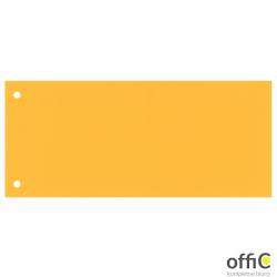 Przekładki 1/3 A4 Maxi Esselte, żółty, 100 szt., 624448