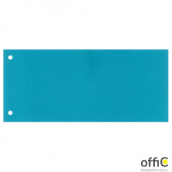 Przekładki kartonowe 1/3 A4 niebieskie 100 sztuk 20996/624445 ESSELTE