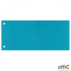 Przekładki 1/3 A4 Maxi Esselte, niebieski, 100 szt., 624445