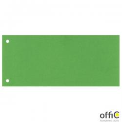 Przekładki kartonowe 1/3 A4 100 sztuk zielone 20997/624447 ESSELTE