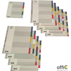 Przekładki OXFORD z kolorowego PP, A4, 20 kart 100204757