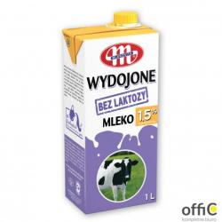 Mleko WYDOJONE UHT bez laktozy 1,5% 1l