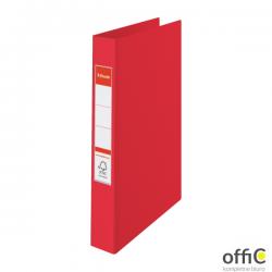 Segregator Esselte A4 z 4 kółkami, grzbiet 42 mm, czerwony, , 14459