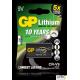 Bateria litowa GP 9V / U9VL 9.0V GPPVLCRV9009