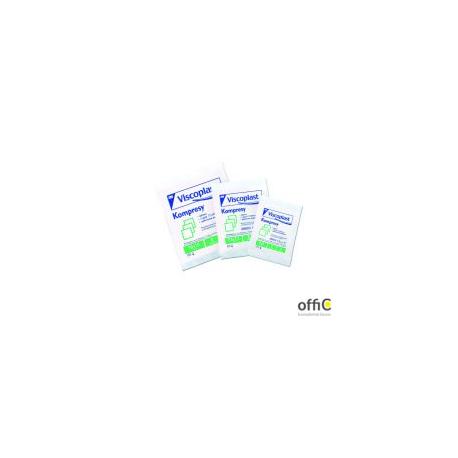 Kompresy jałowe bawełniane 7.5x7.5cm 3szt. VISCOPLAST YP20900014