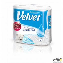 Ręcznik VELVET czysta biel dwie rolki 5110056 151.739.