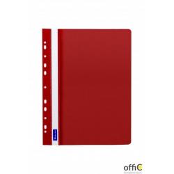 Skoroszyt DATURA A4 twardy zawieszany czerwony (10szt)
