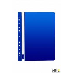 Skoroszyt DATURA A4 twardy zawieszany niebieski (10szt)