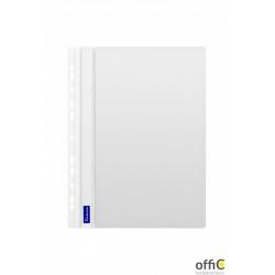 Skoroszyt DATURA A4 twardy zawieszany biały(10szt)