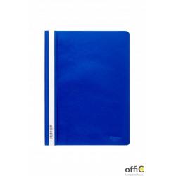 Skoroszyt miękki PP DOTTS (20) niebieski polipropylen