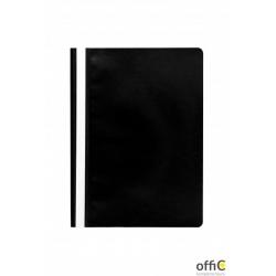 Skoroszyt miękki PP DATURA czarny (20szt) polipropylen