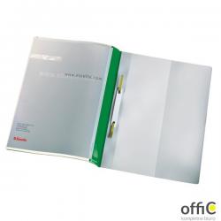Skoroszyt sztywny z wąsami Esselte Panorama, zielony, 25 szt., 28360