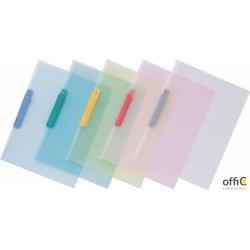 Skoroszyt z klipsem zaciskowym, format A4 transparentny DCB14-T PENTEL
