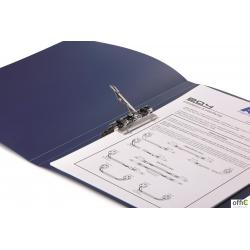 Teczka z zaciskiem dźwigniowym A4 1-100kart PP niebieska  224506 DURABLE