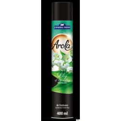 Odświeżacz powietrza AROLA Spray 400ml konwalia GENERAL FRESH
