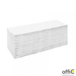 Ręczniki składane ZZ ESTETIC ECONOMIC białe 4000 składek CLIVER