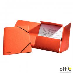 Teczka kartonowa z gumkami ESSELTE pomarańczowy 26594