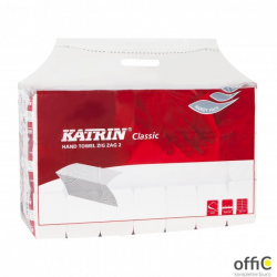 Ręcznik ZZ KATRIN biały Classic 561665/35298  200x20  folia