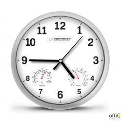 Zegar ścienny LYON_biały EHC016W ESPERANZA