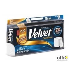 Papier toaletowy VELVET EXCELLENCE (op 8szt) biały