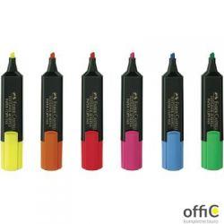 Zakreślacz TEXTLINER 48 etui 4 kolory FABER-CASTELL 154804 FC