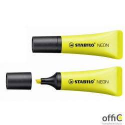 Zakreślacz STABILO neon żółty 72/24