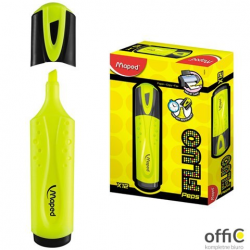 Zakreślacz FLUO PEPS żółty MAPED 742534