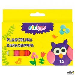 Plastelina 12 kolorów STRIGO SSC008