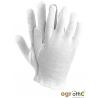 Rękawiczki białe cienkie bawełniane rozmiar 9 OGRIFOX OX-UNDER W 9 norma EN420