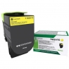 Kaseta z tonerem Lexmark 71B2HY0 do CS/CX4/517  zwrotny  3 500 str.  yellow