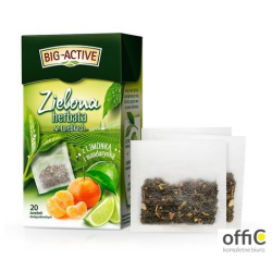 Herbata BIG-ACTIVE MANDARYNKA-LIMONKA zielona 20t